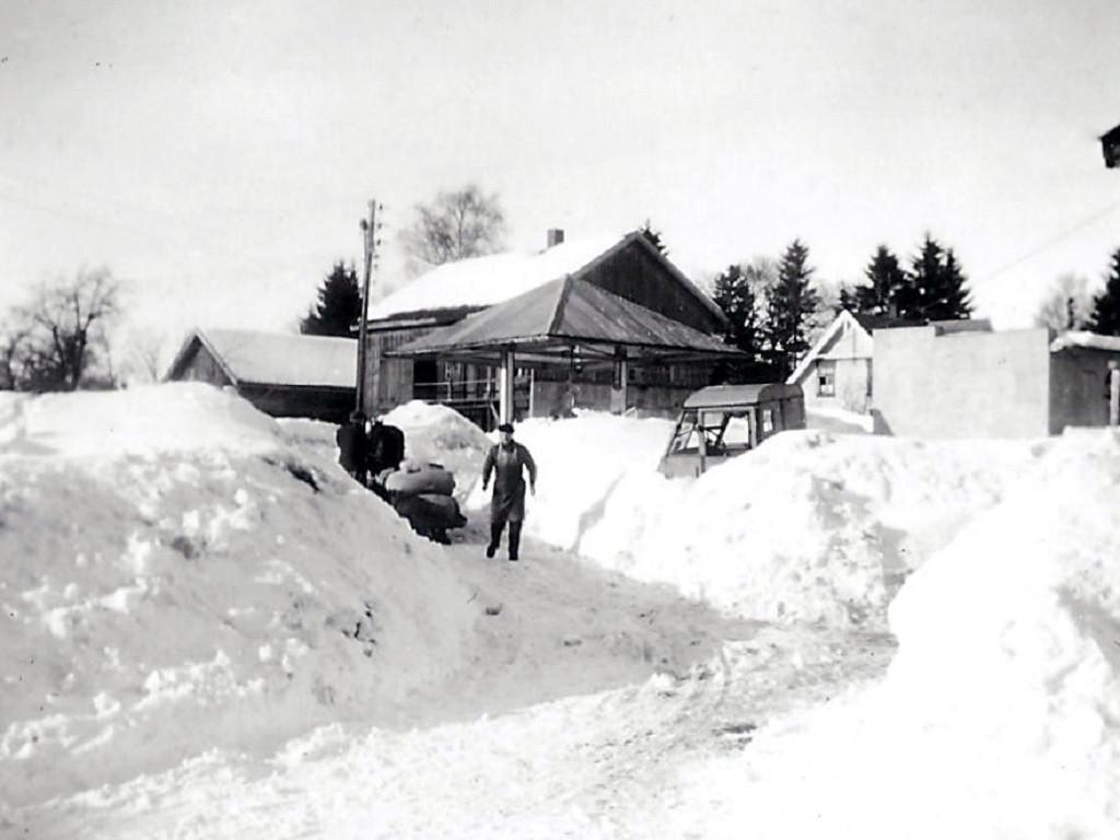 Bilde av Snørik vinter 1947