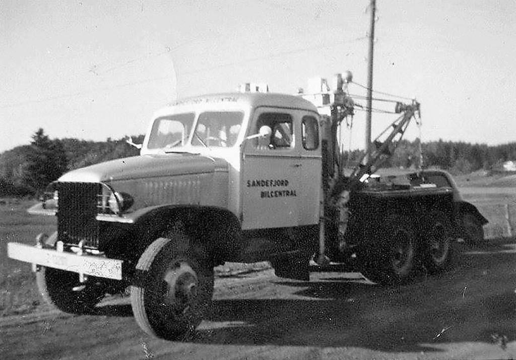 Bilde av GMC bergingsbil