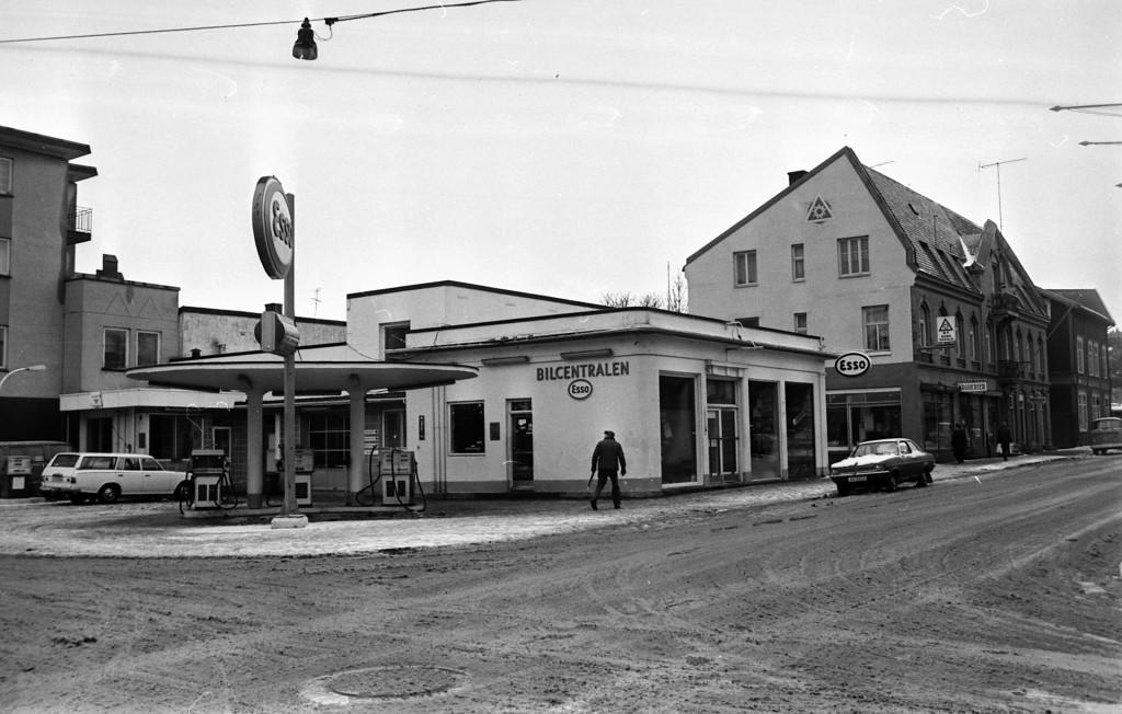 Bilde av Esso bensinstasjon