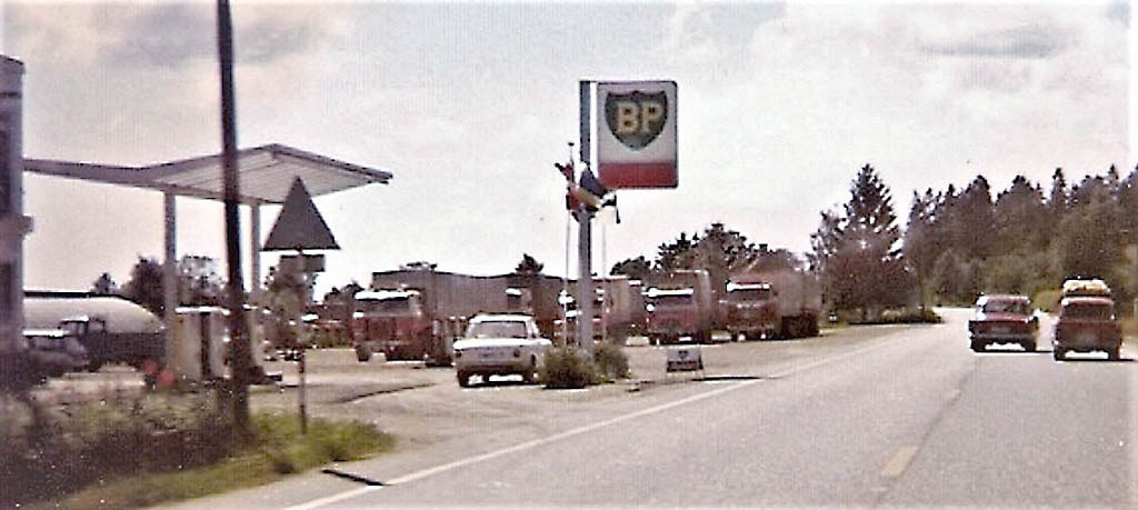 Bilde av Lastebilparkering Johan Evensen