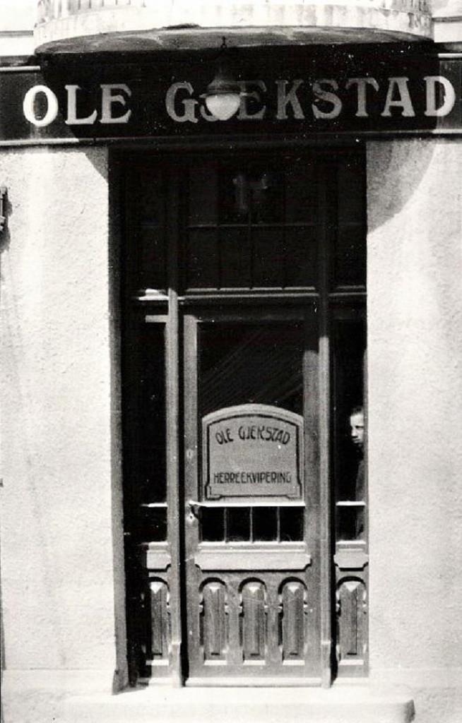 Bilde av Inngangsdøren til Ole Gjekstad