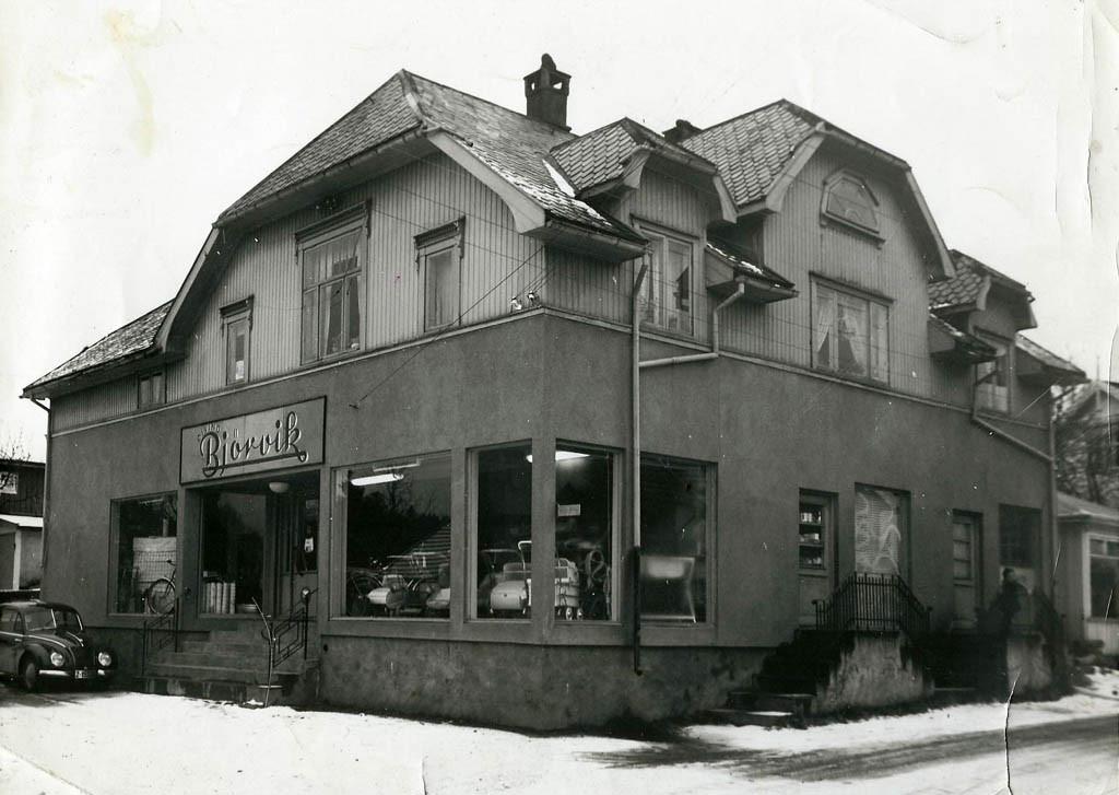Bilde av Et lite varemagasin på Framnes