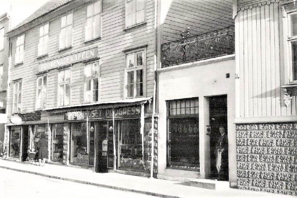 Bilde av Skotøyhuset Progress i Storgata