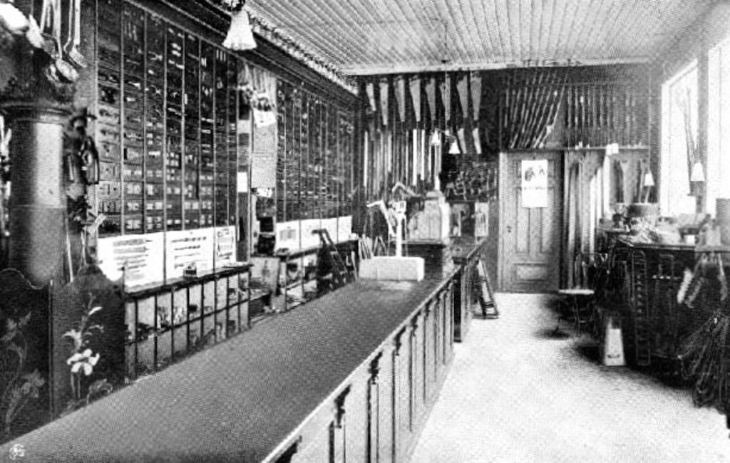 Bilde av Gammeldags  jernvarebutikk