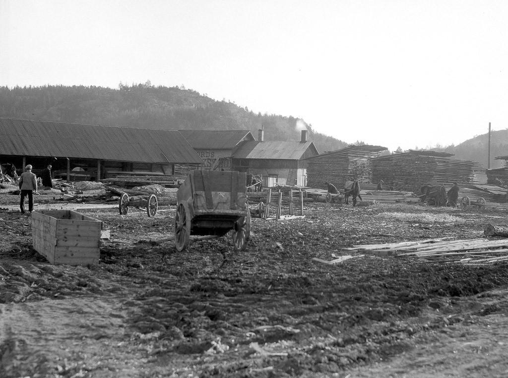 Bilde av Sagbruk på Brygga