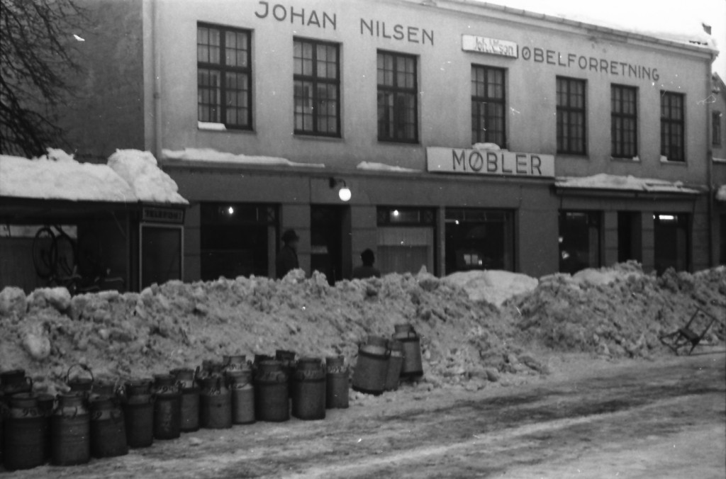 Bilde av Johan Nilsen, Trævarefabrik & Møbelfabrik, Aagaards Plass