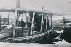 Bilde av Fiskesalg fra båt