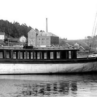 Bilde av Gran og Framnæsferja