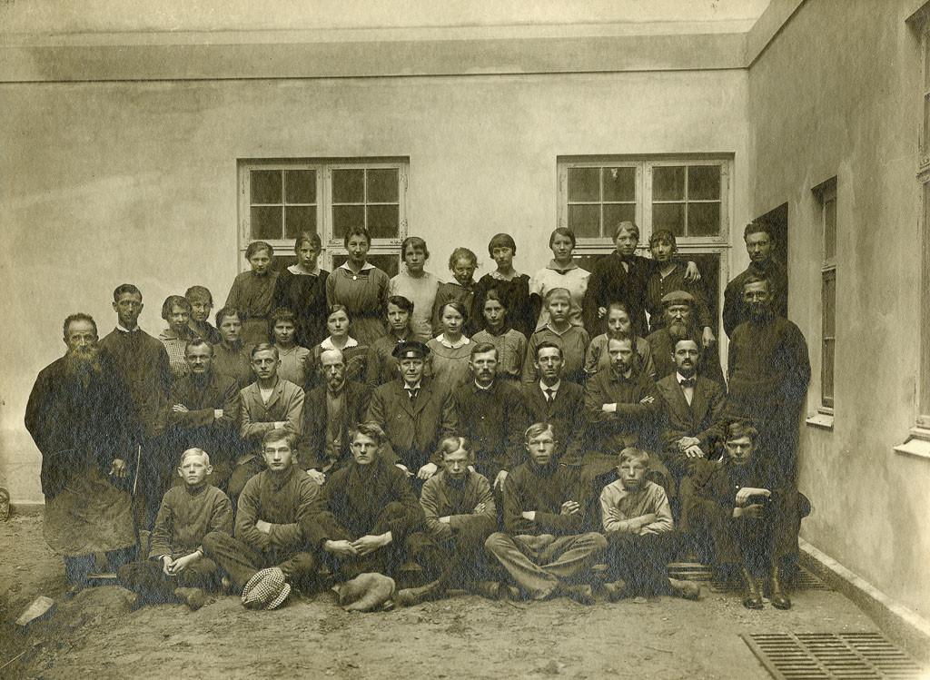 Bilde av Ansatte i 1916