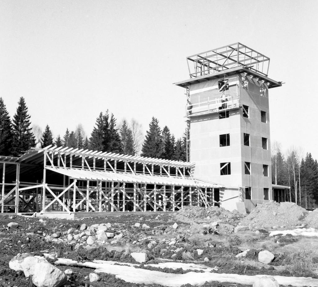 Bilde av Tårnet bygges på Torp