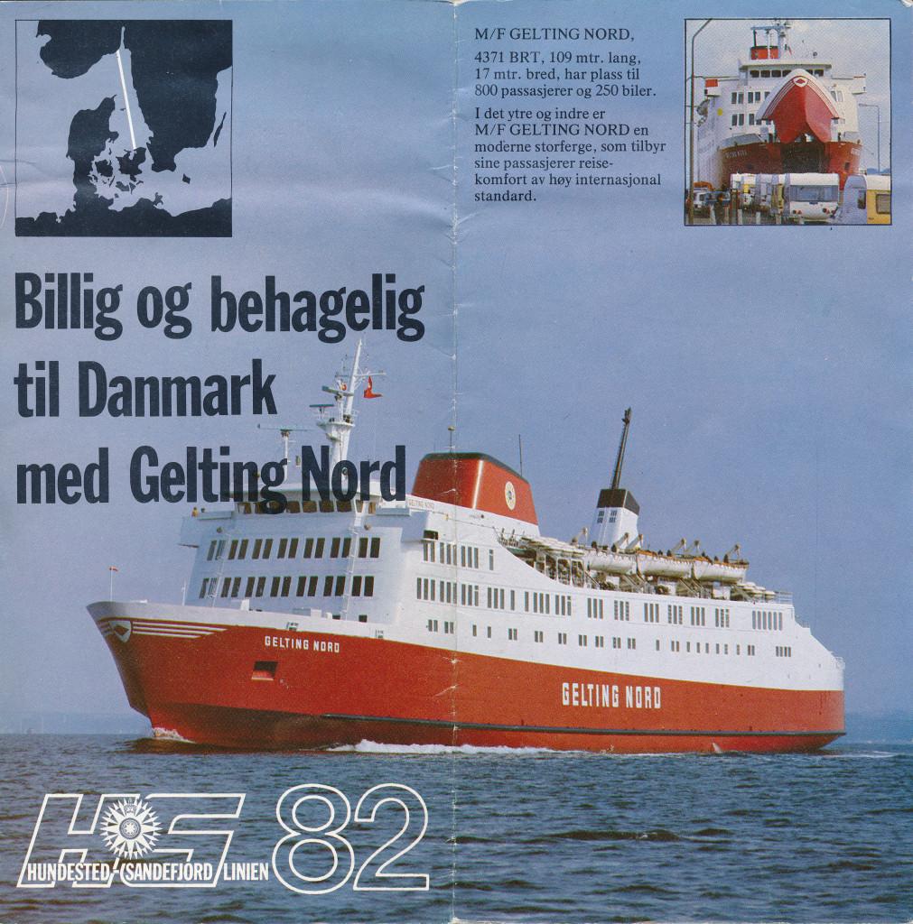 Bilde av M/S Gelting Nord