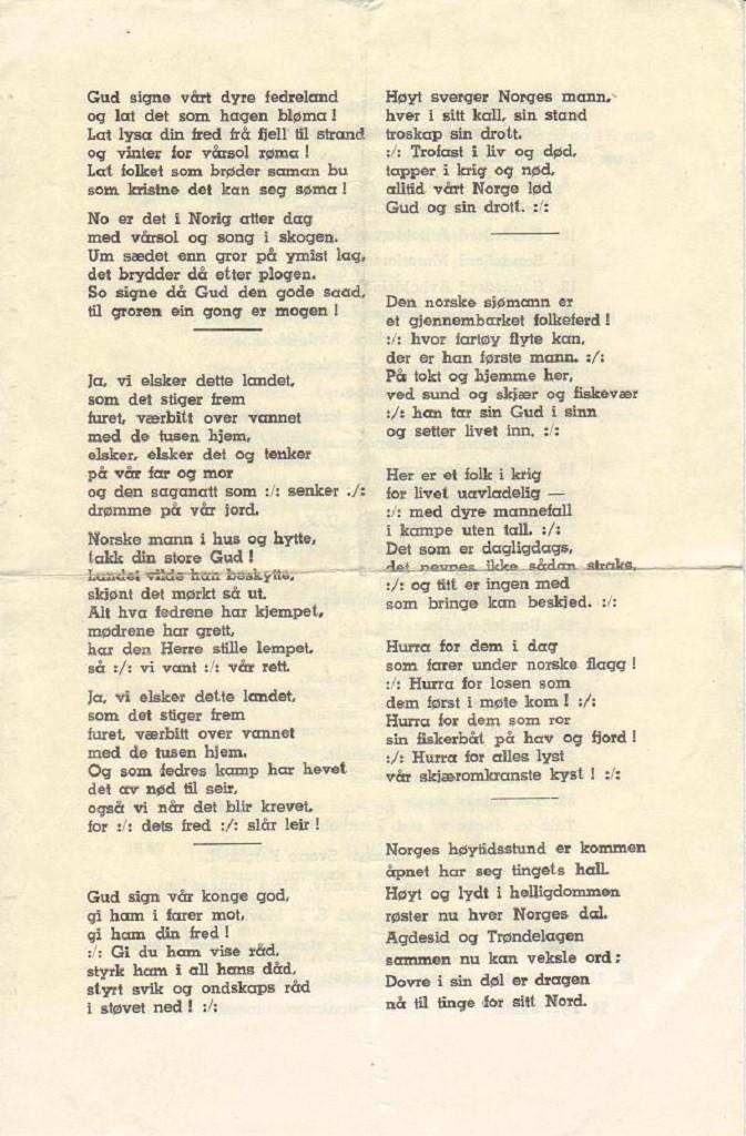 Bilde av Program 1946, side 4
