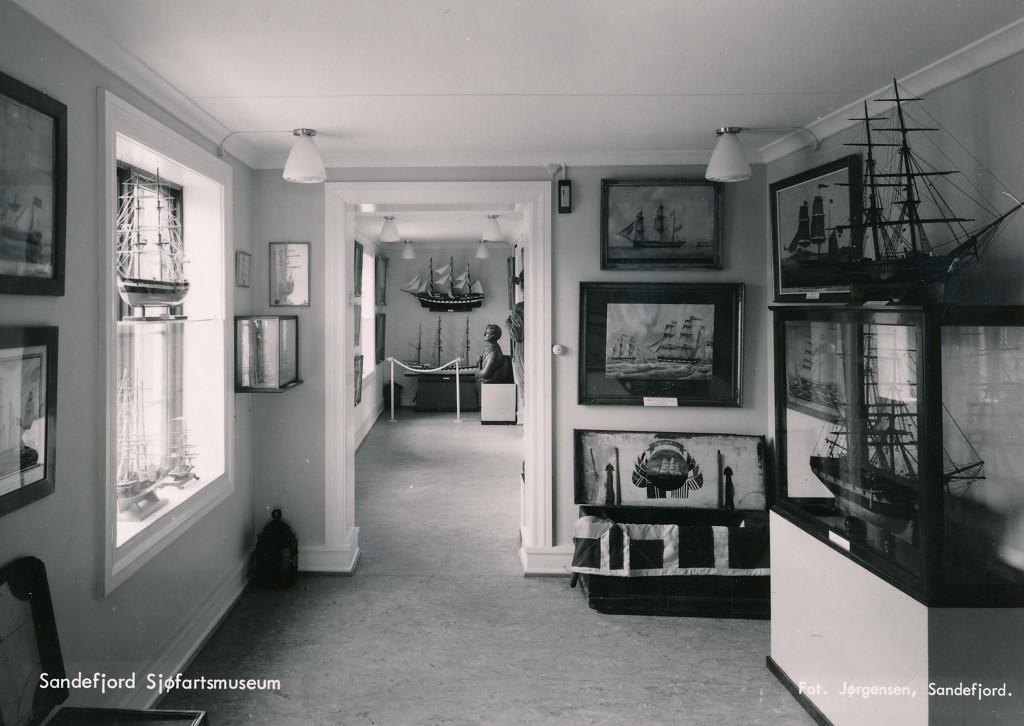 Bilde av Prinsens gate 18- Sandefjord Sjøfartsmuseum Interiør i sjøfartsmuseet