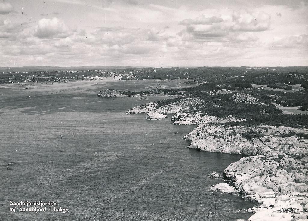 Bilde av Kvernberget - østsiden av Sandefjordsfjorden