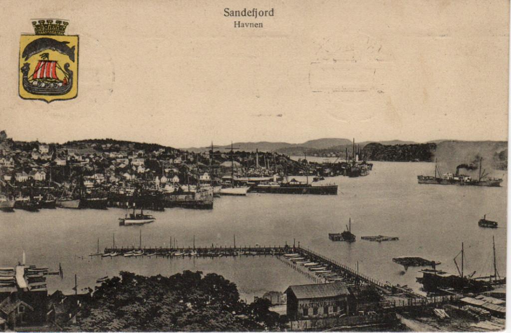 Bilde av Indre havn og Framnes