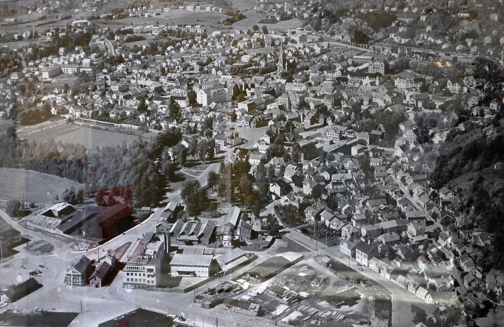Bilde av Bryggeområdet og nordover