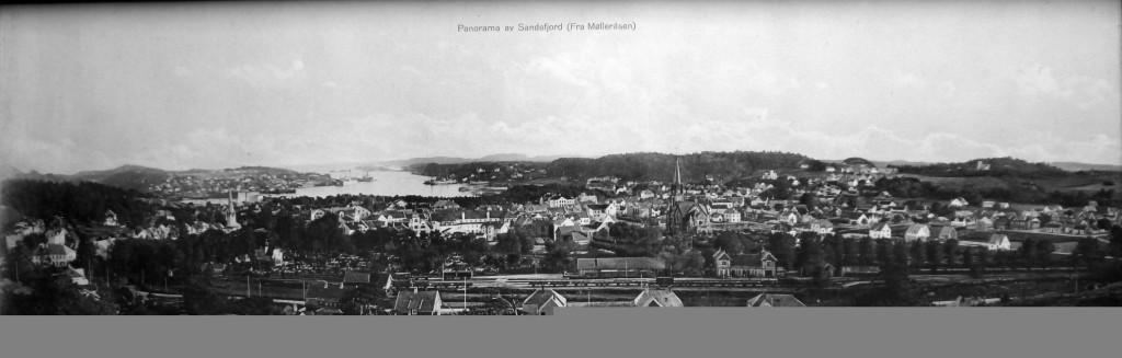 Bilde av Sydover fra Mølleraasen.