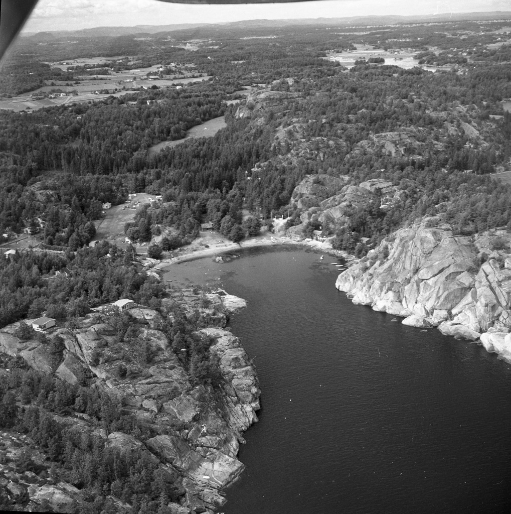 Bilde av Svinevika i Larvik kommune