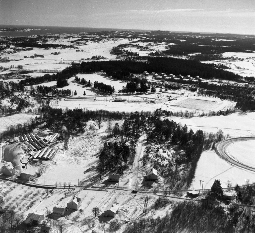 Bilde av Travbanen på Nygård