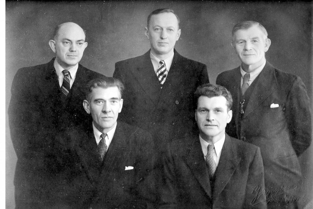 Bilde av Styret 1947