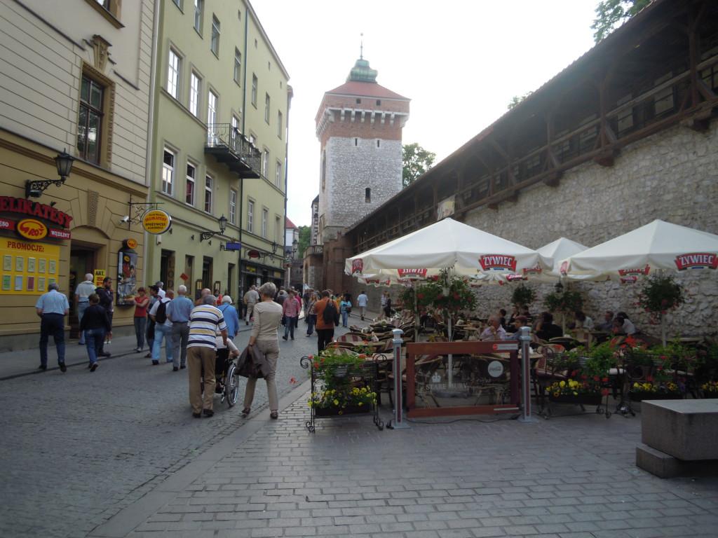 Bilde av Krakow`s  gamle Bymurer