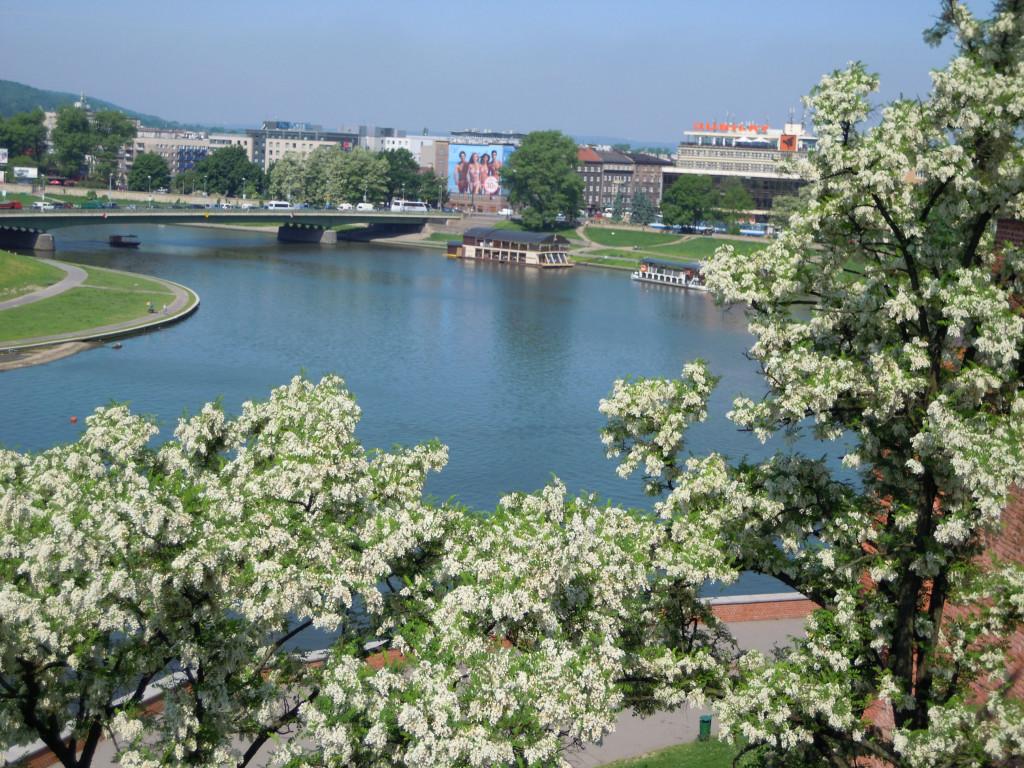 Bilde av Krakow elven Wisla