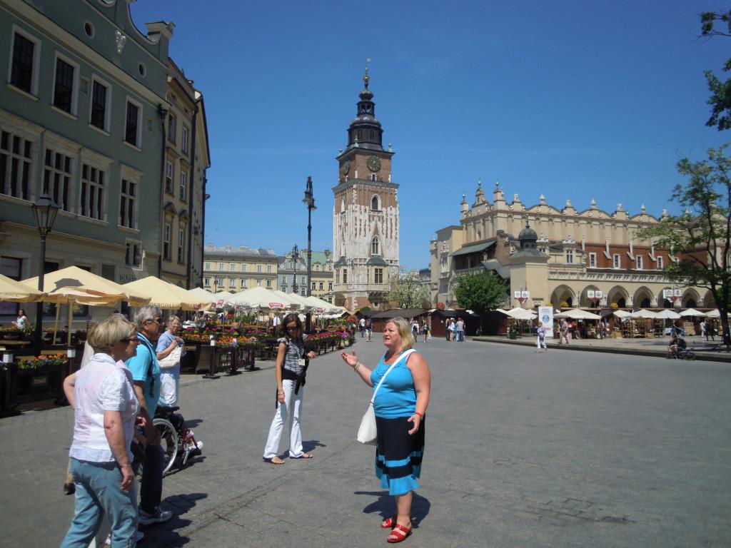 Bilde av Krakow Markedsplassen.
