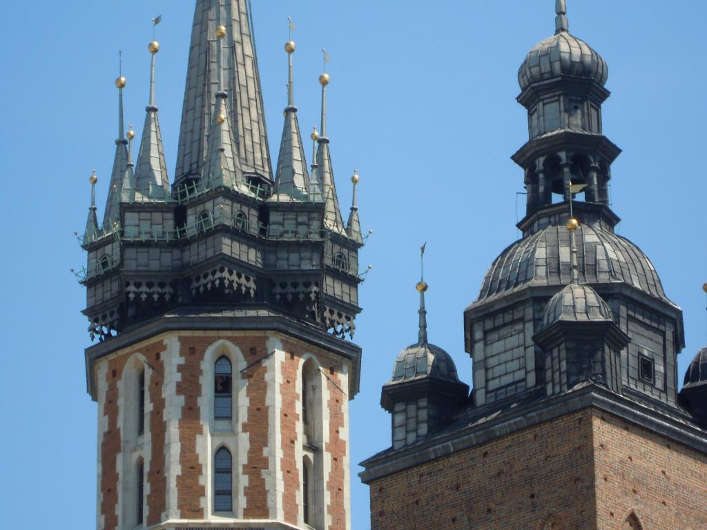Bilde av Krakow Mariekirken.