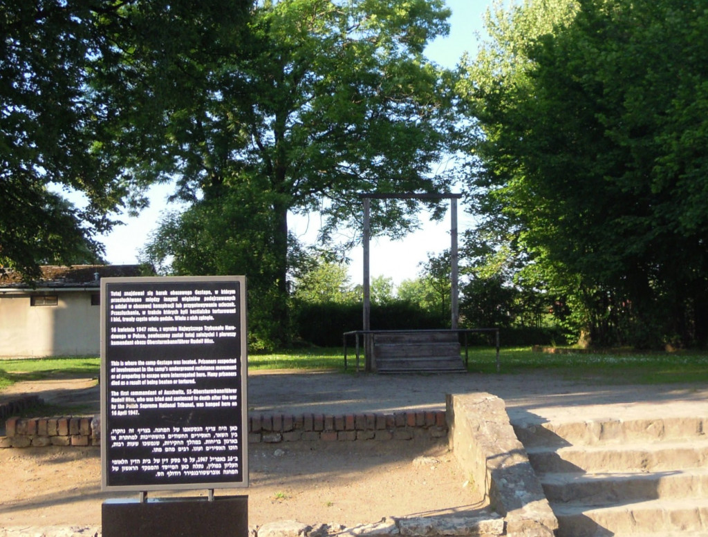 Bilde av Auschwitz  Leirkomandantens have.