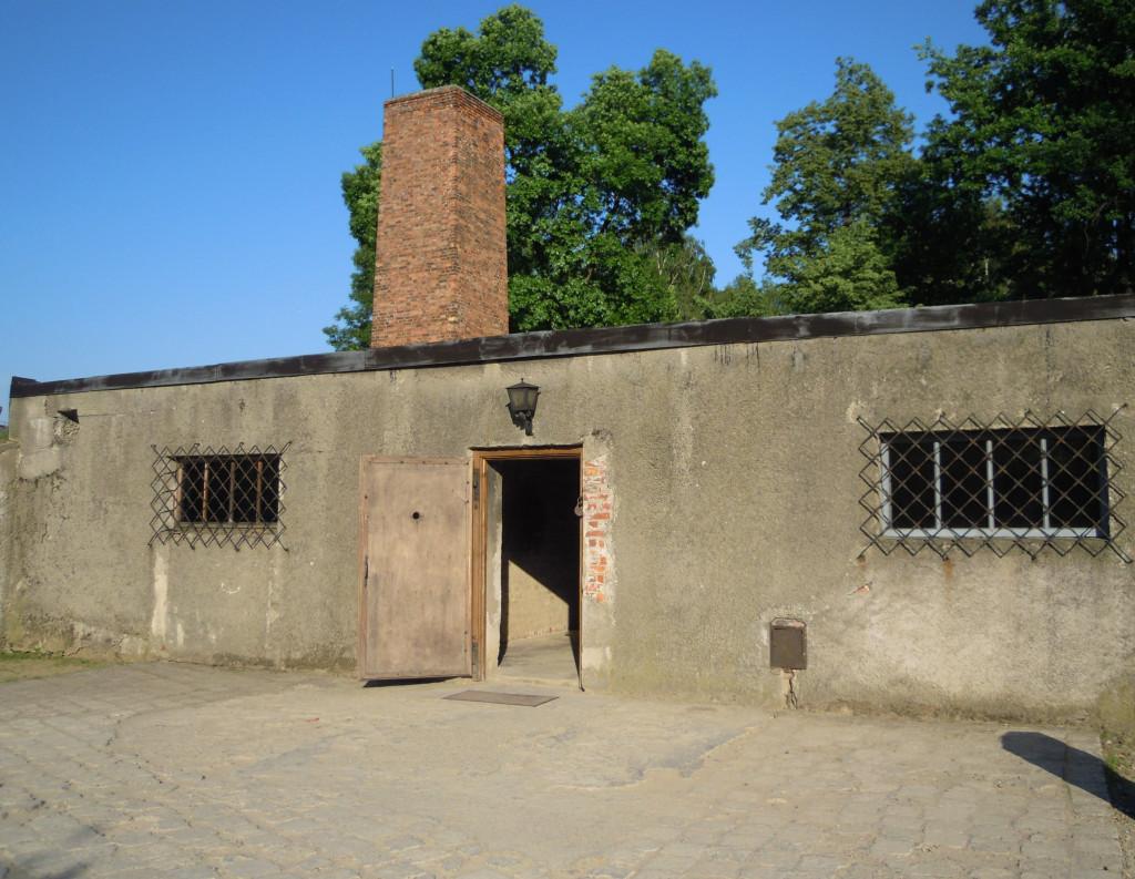 Bilde av Auschwitz  Krematoriet.
