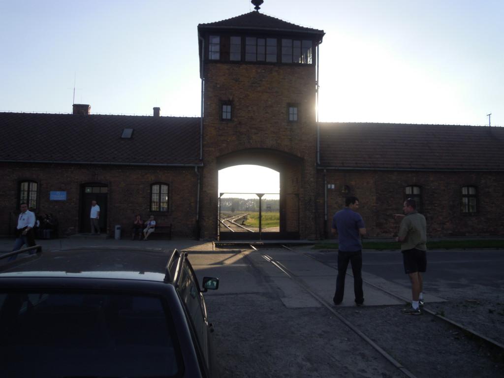Bilde av Birkenau  Inngangspartiet