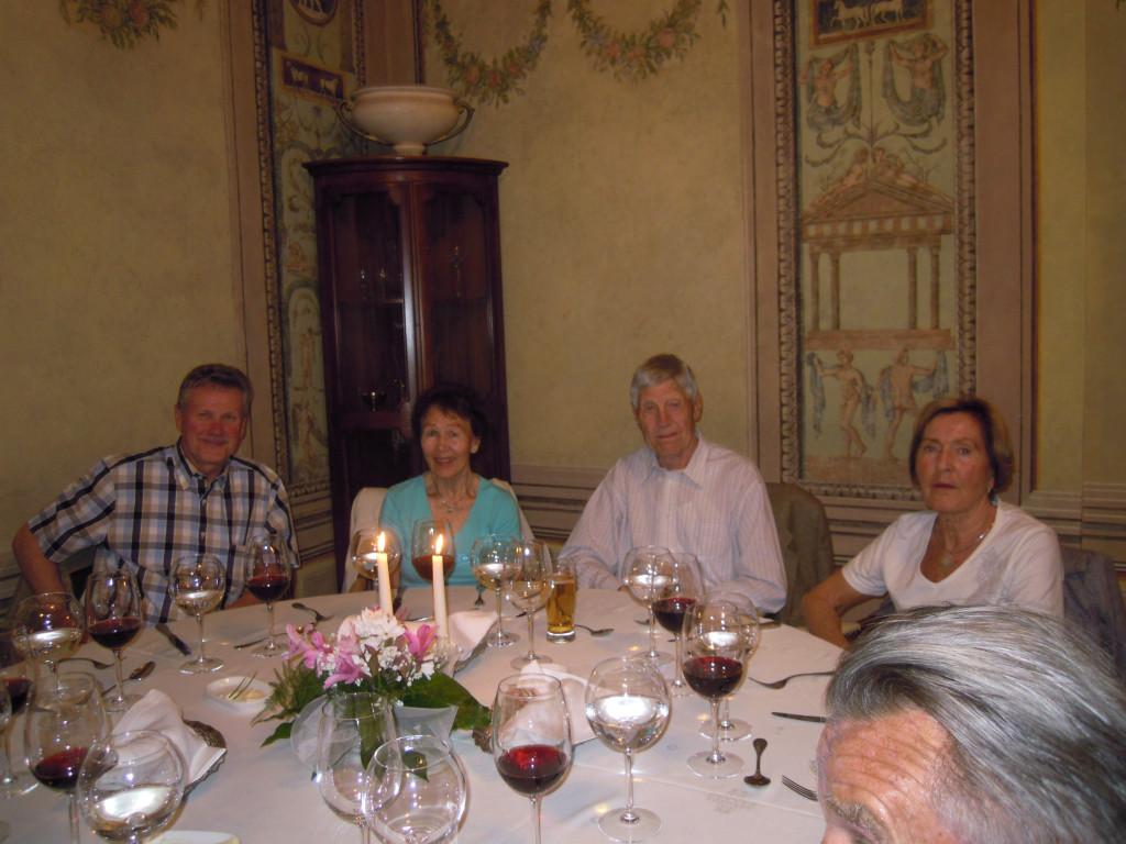Bilde av På restaurant med stjerner.