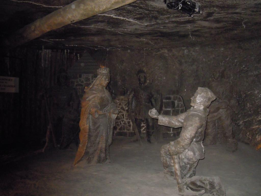 Bilde av Saltgruvene - Kunstverk.