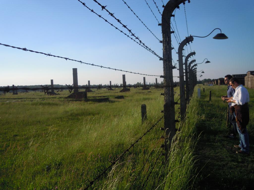 Bilde av Birkenau  etter frigjøringen.