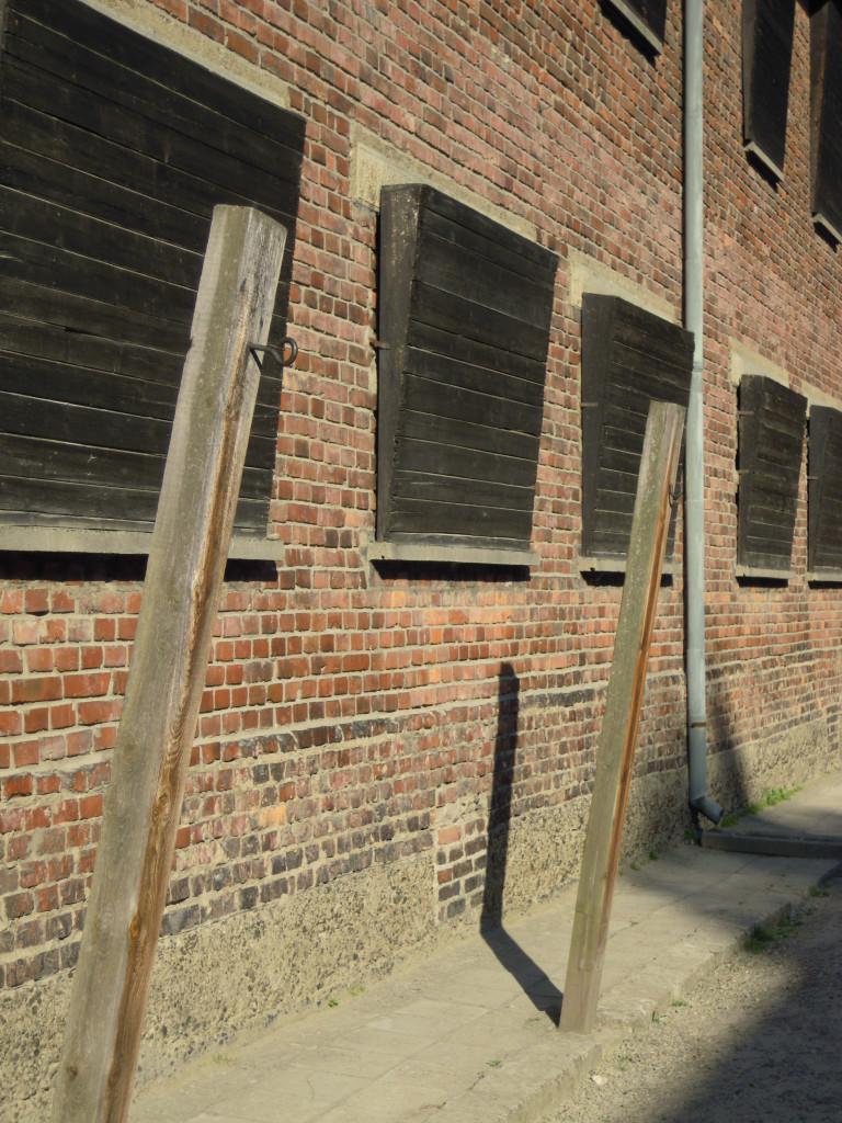 Bilde av Auschwitz Straffeposten.