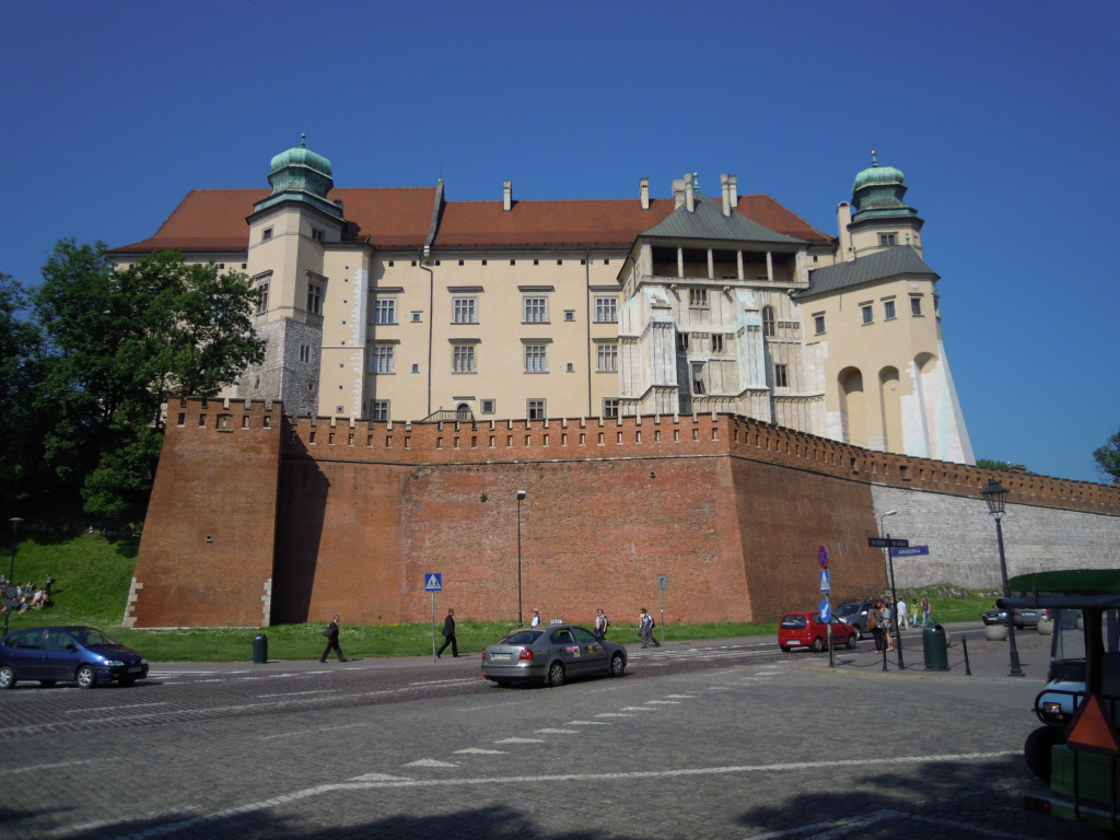 Bilde av Krakow Wavelslottet.