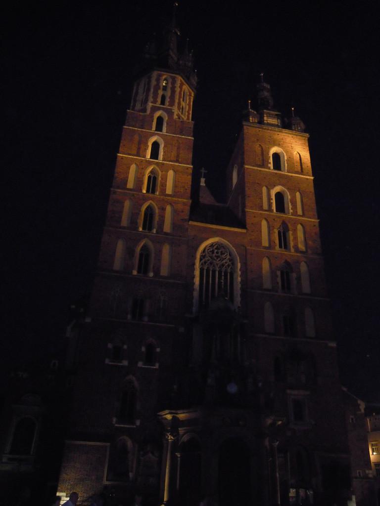 Bilde av Krakow Mariakirken.