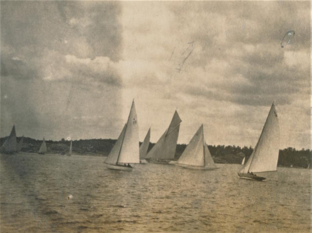 Bilde av Seilbåter 1920