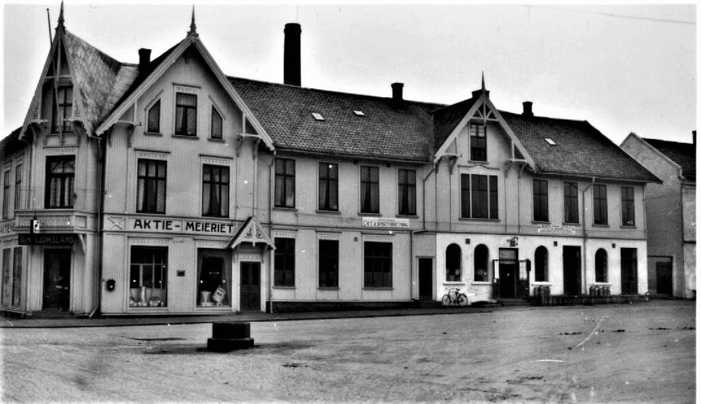 Bilde av Aagaards Plass 1 Meierigården