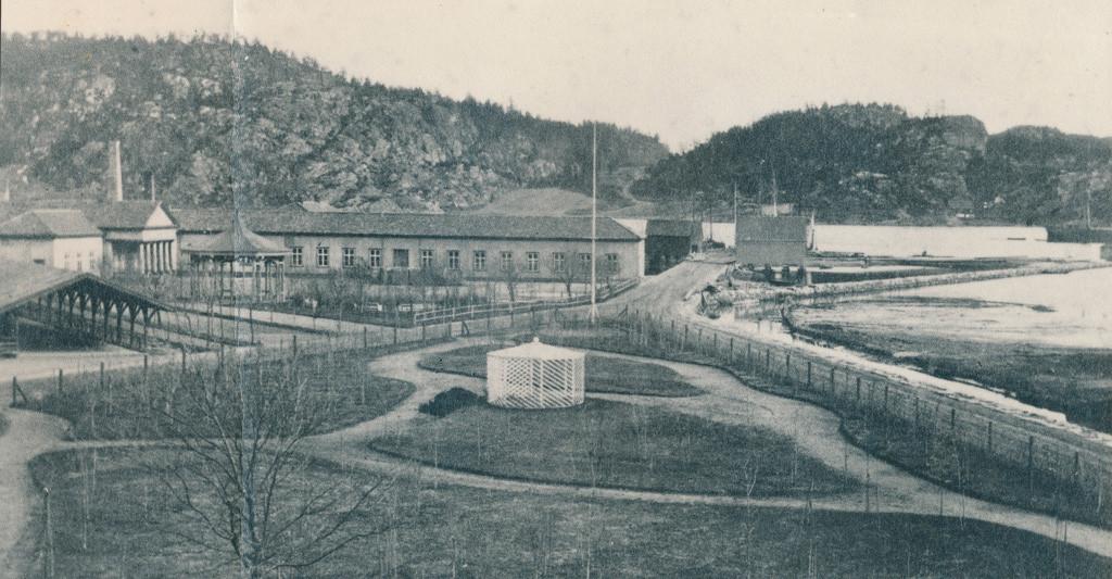 Bilde av Slik Kurbadet opprinnelig var fra 1837
