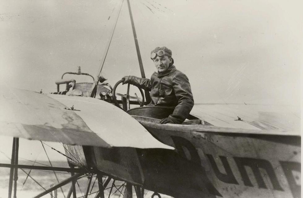 Bilde av Løytnant Dons landet i Sandefjord
