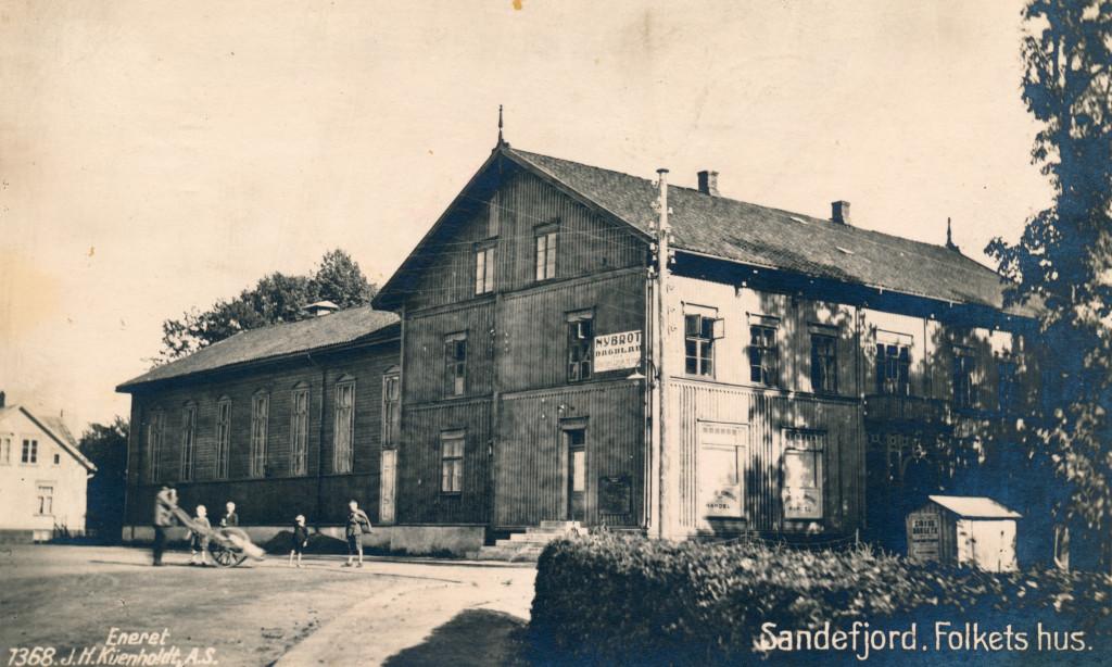 Bilde av Folkets Hus / Bryggegaten 6
