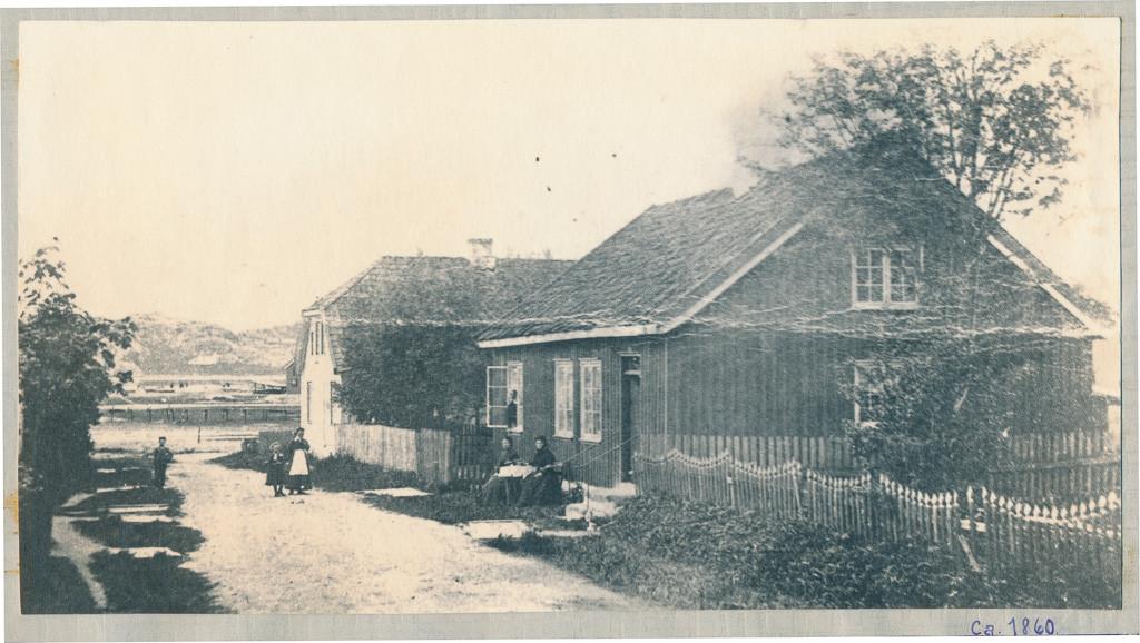 Bilde av Gammel bebyggelse i Havnegaden.