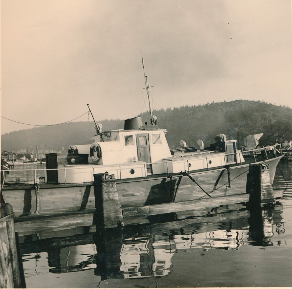 Bilde av Brygga 22  -  Brannbåten Sprøyt
