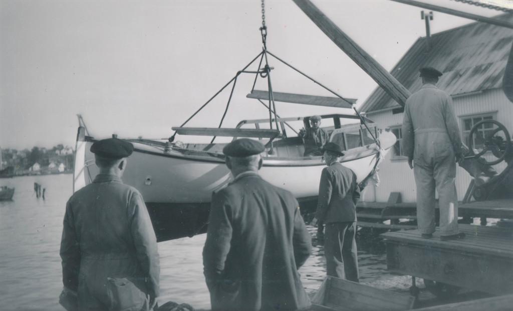 Bilde av Brygga 5  - Sjøsetting