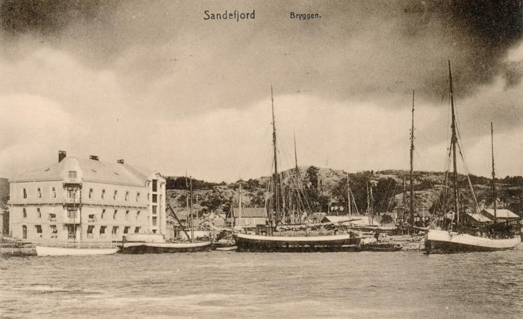 Bilde av Indre havn  -  Fraktebåter