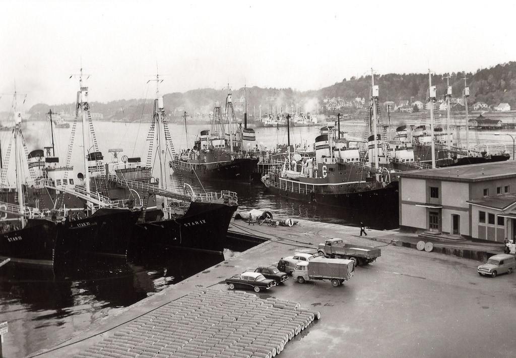 Bilde av Klar for avgang på 1960-tallet