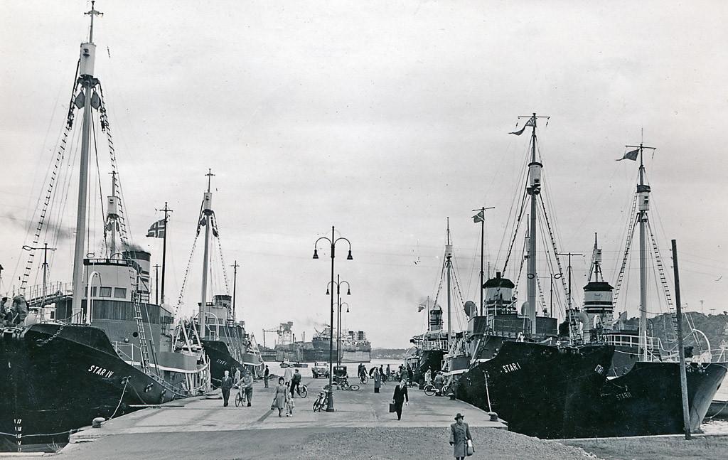 Bilde av Startbåtene  -  Rasmussens hvalbåter