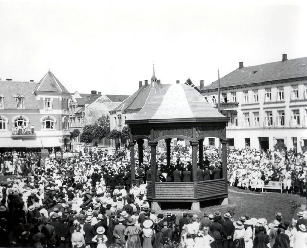Bilde av Innvielse av musikkpaviljongen