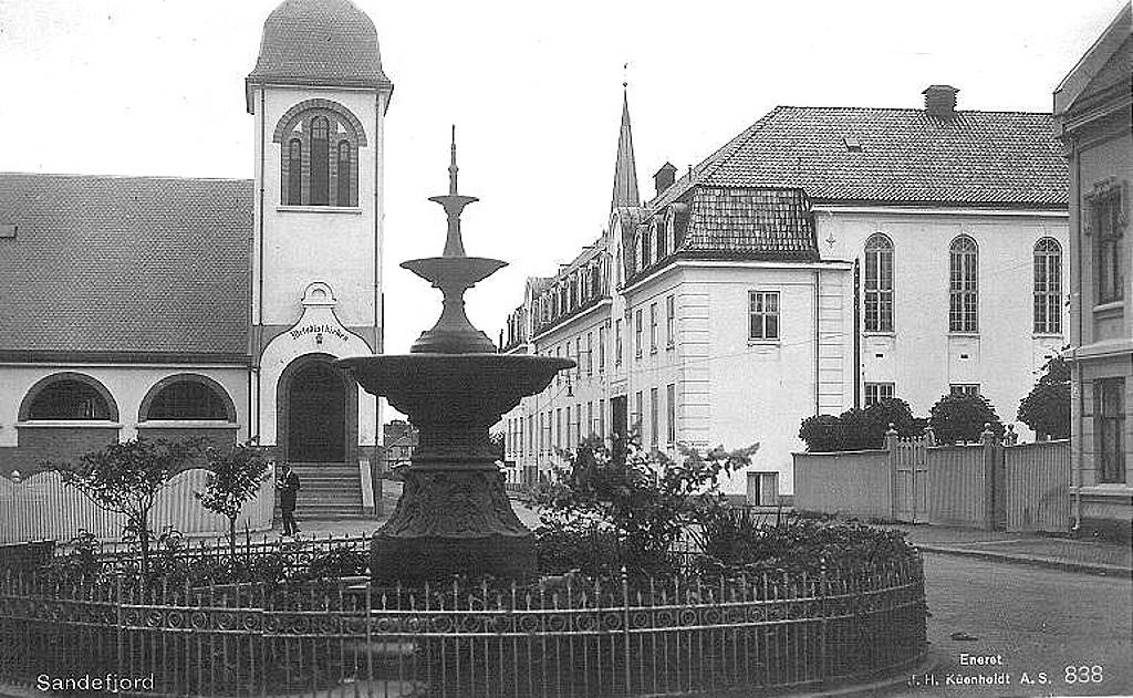 Bilde av Chr. Hvidts Plass